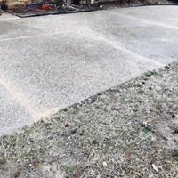Cracked and Sinking Driveway Fixed in Dallas, TX - After Photo