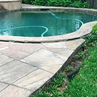 Pool Deck - Before Photo