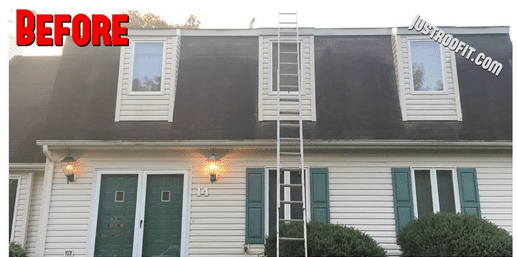 New Roof install in Tinton Falls NJ - Before Photo