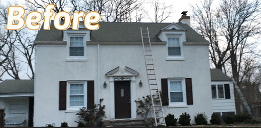 Roof Inspection & Replacement in Spring Lake NJ - Before Photo
