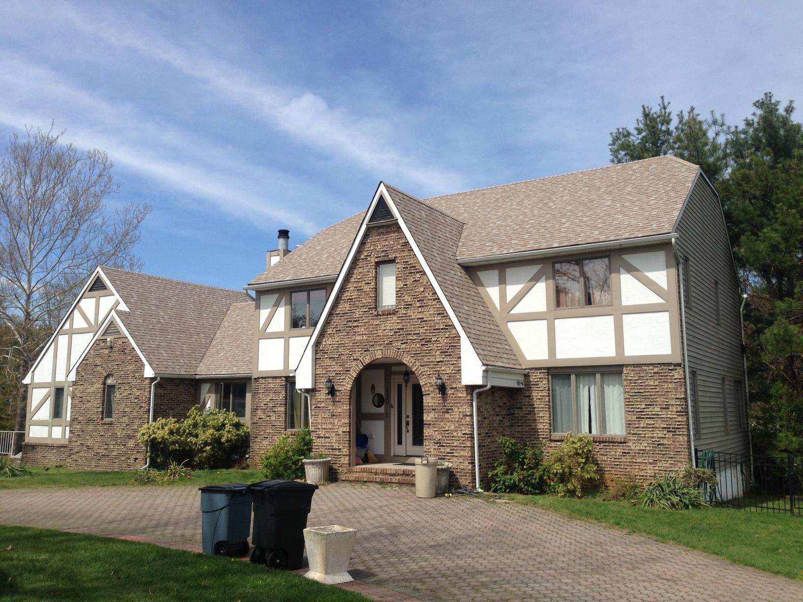 Freehold NJ Roof Replacement Amber Color Roof - After Photo