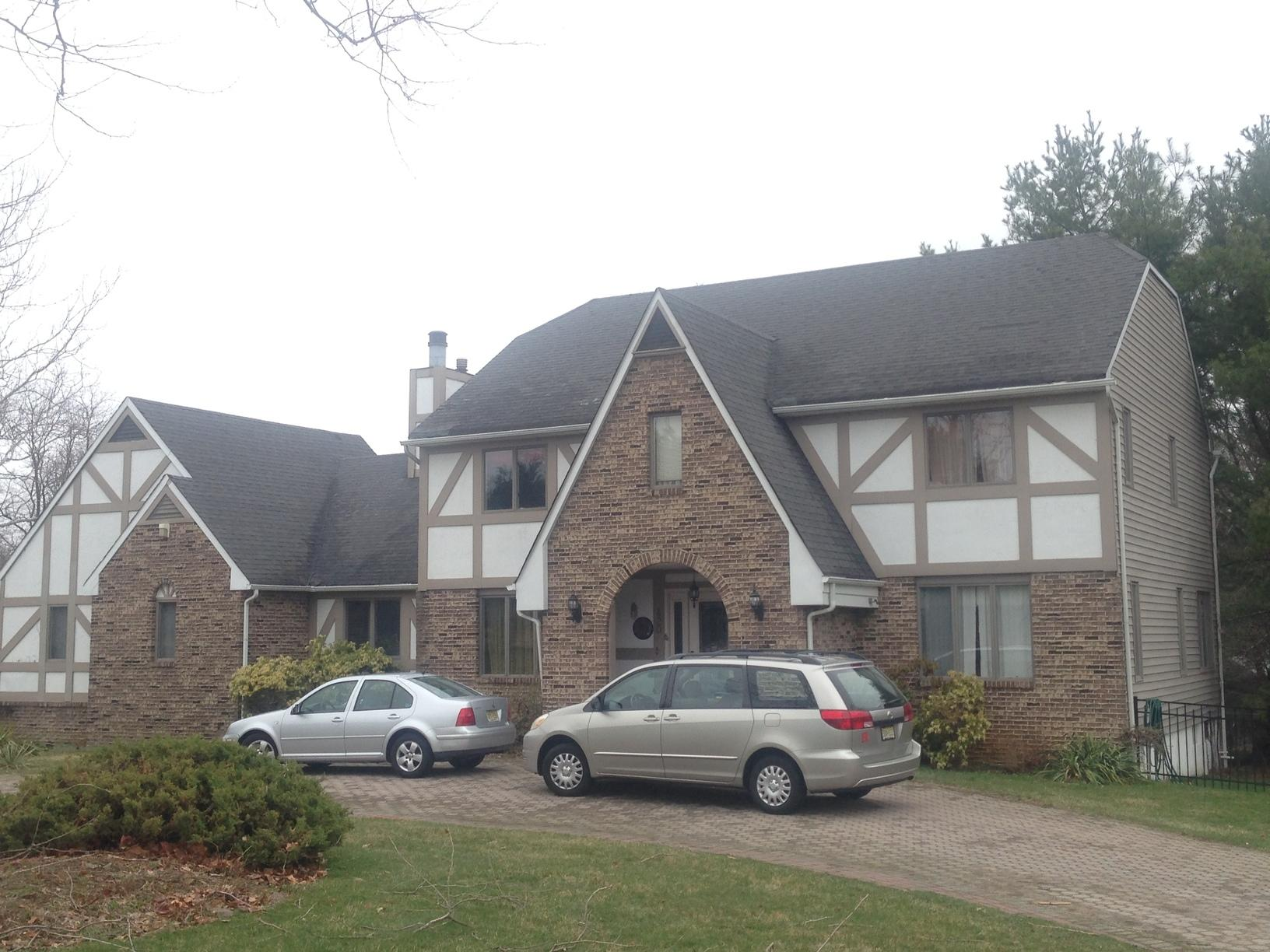Freehold NJ Roof Replacement Amber Color Roof - Before Photo