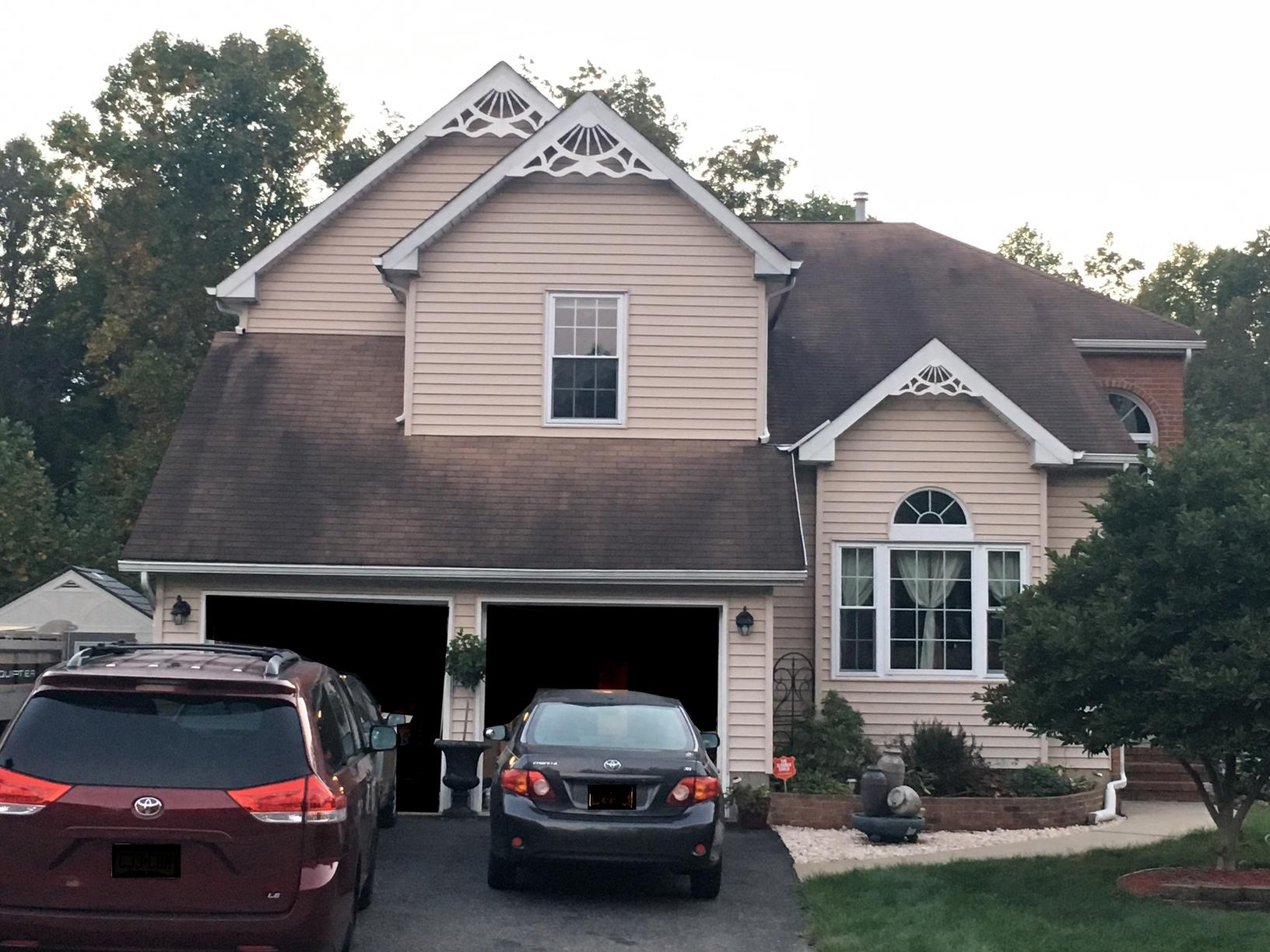 Roof Replacement in Old Bridge, NJ - Before Photo