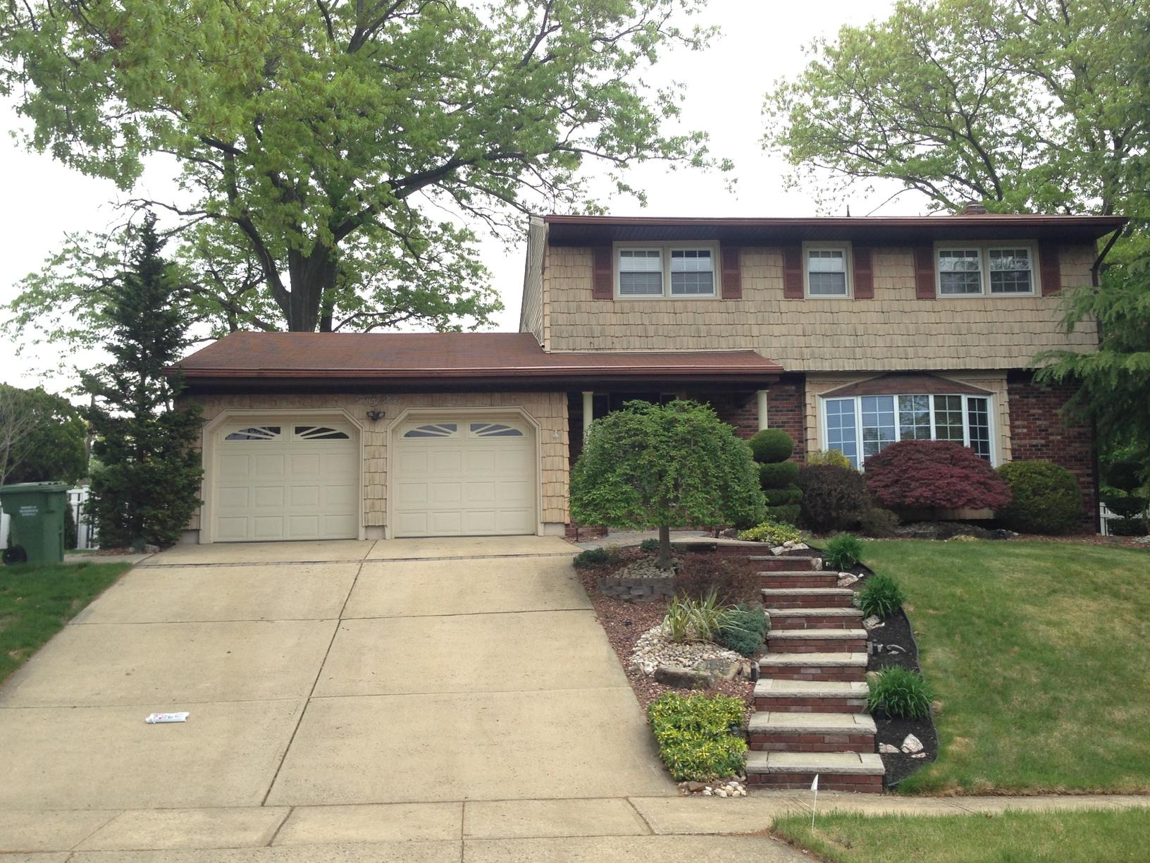 Roof Replacement in Sayreville NJ - Before Photo