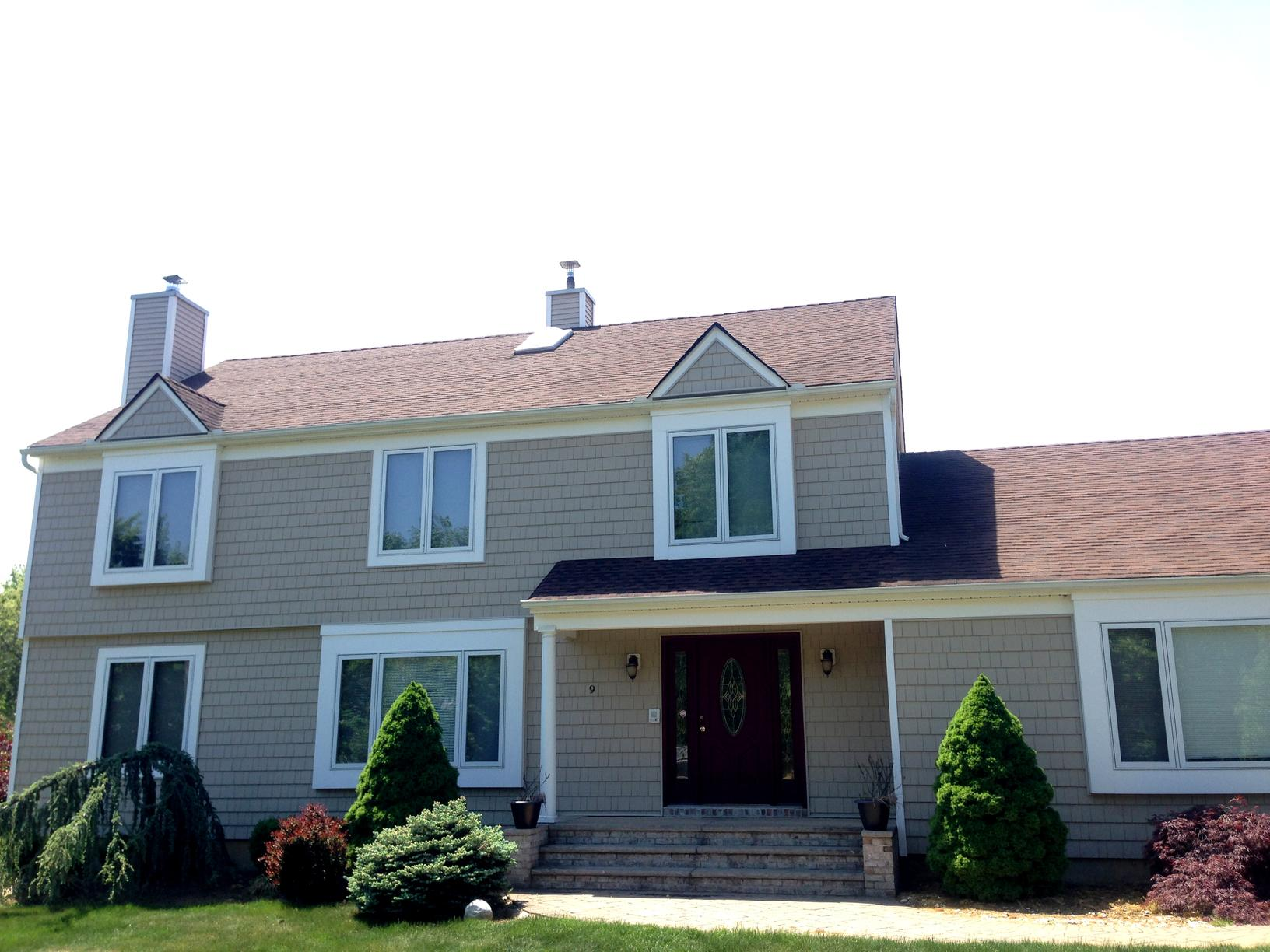Roof Replaced in Middletown NJ - Before Photo