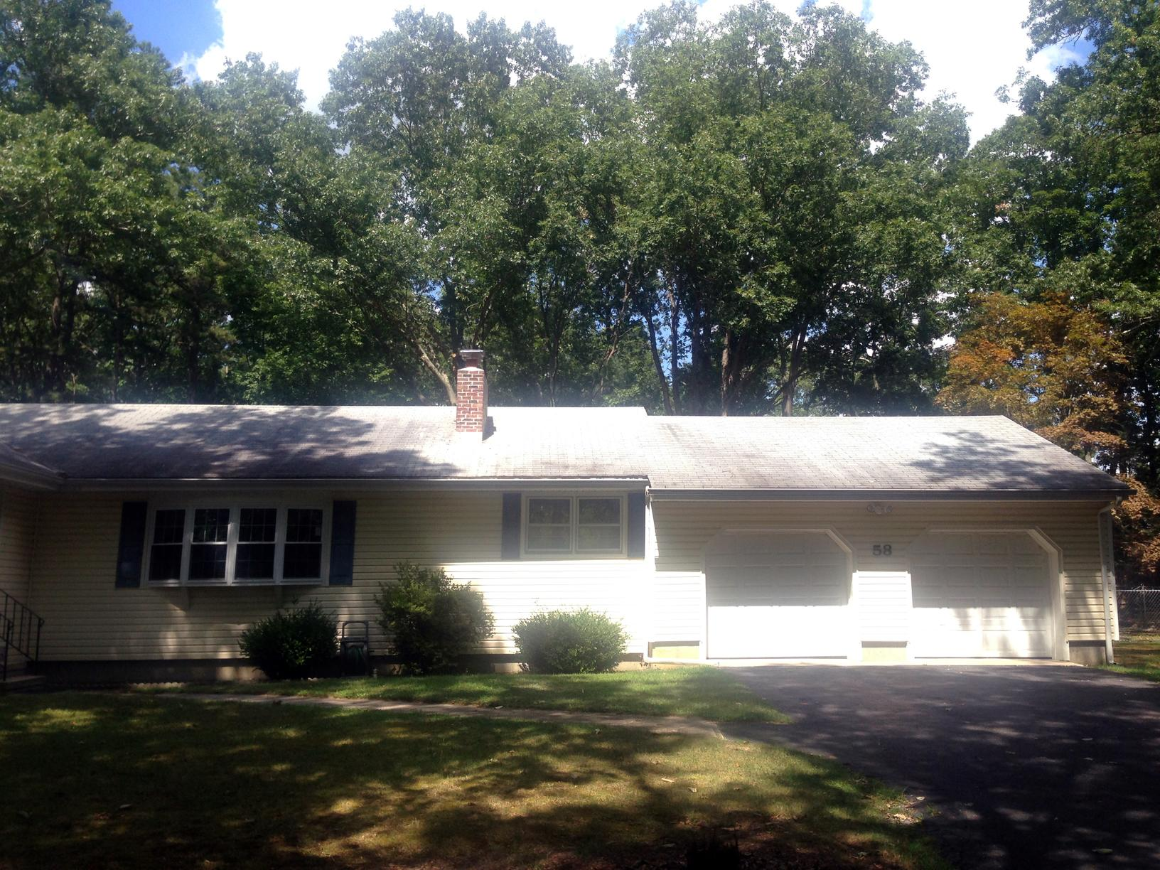 Freehold NJ Roof Replacement Amber Roof - Before Photo
