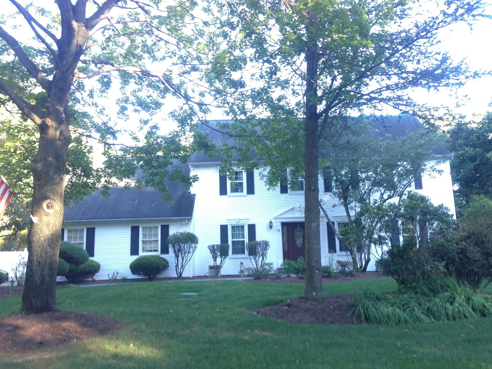 Holmdel NJ, New Roof Install - Before Photo