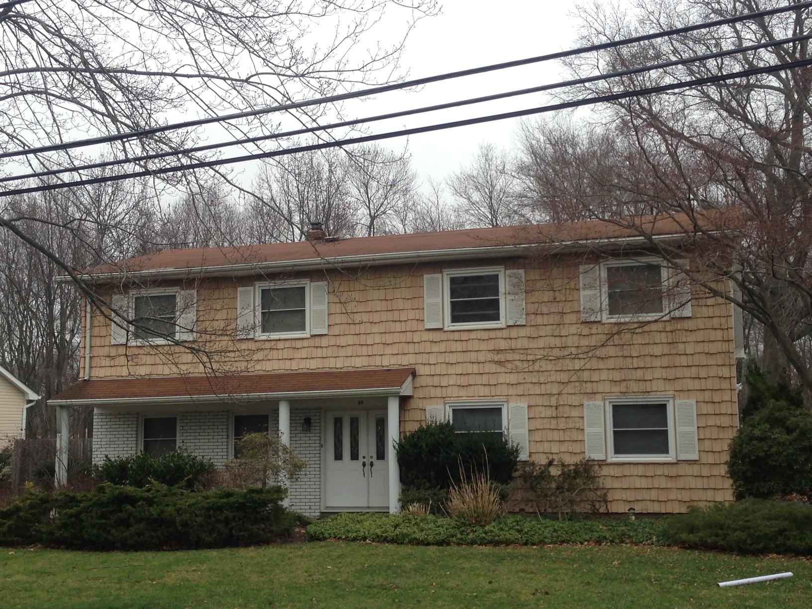 Roof Replacement in Morganville NJ - Before Photo