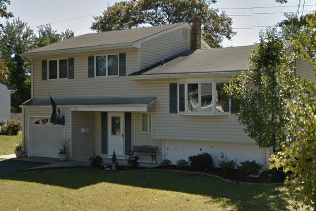 Roof Replacement with Amber Color in Milltown NJ - Before Photo