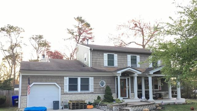 New Roof Installation in Point Pleasant, NJ - Before Photo