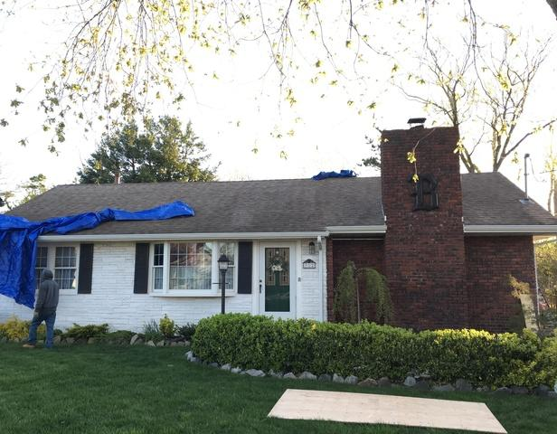 Roof Replacement in Point Pleasant, NJ - Before Photo