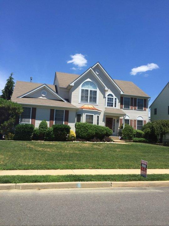Hail Damage with Full Roof Replacement in Lumberton, NJ - Before Photo