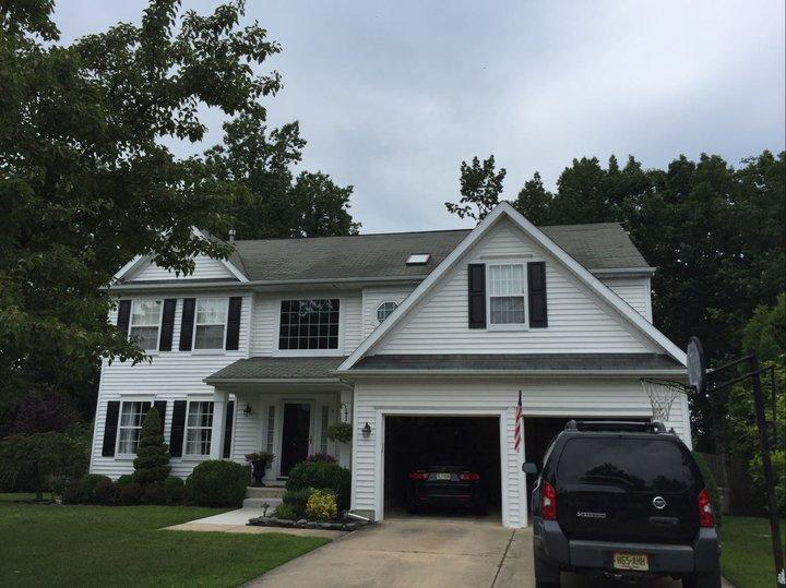 Sewell Roof Replacement - Before Photo