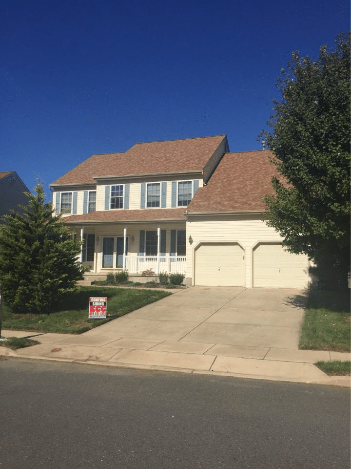 Ecc Roofing Amp Siding Roof Repair Before And After Photos