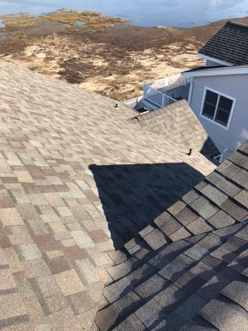 Wind Damaged Roof Replaced in Sea Isle City, NJ