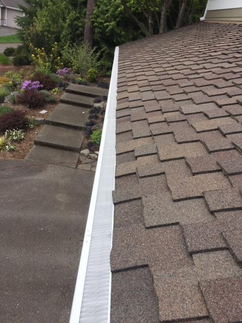 Valor Gutter Guard & gutters - Woodinville - After Photo