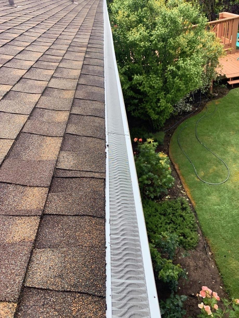 Valor Gutter Guards - Renton - After Photo