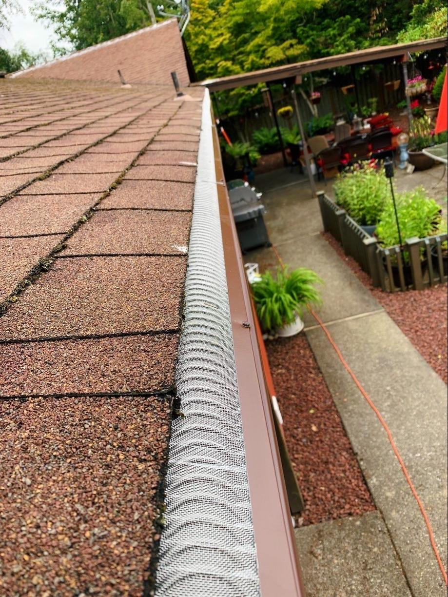 Valor Gutter Guards - Federal Way - After Photo