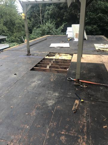 Torch Down Roofing Replacement - TPO Install Burien Washington