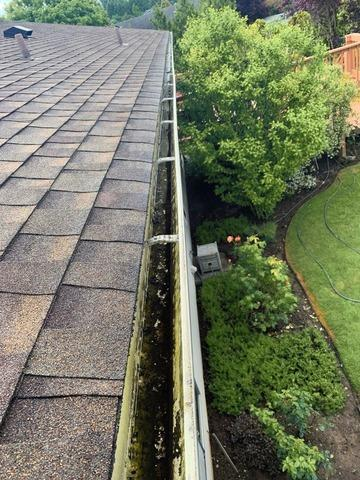 Valor Gutter Guards - Renton - Before Photo
