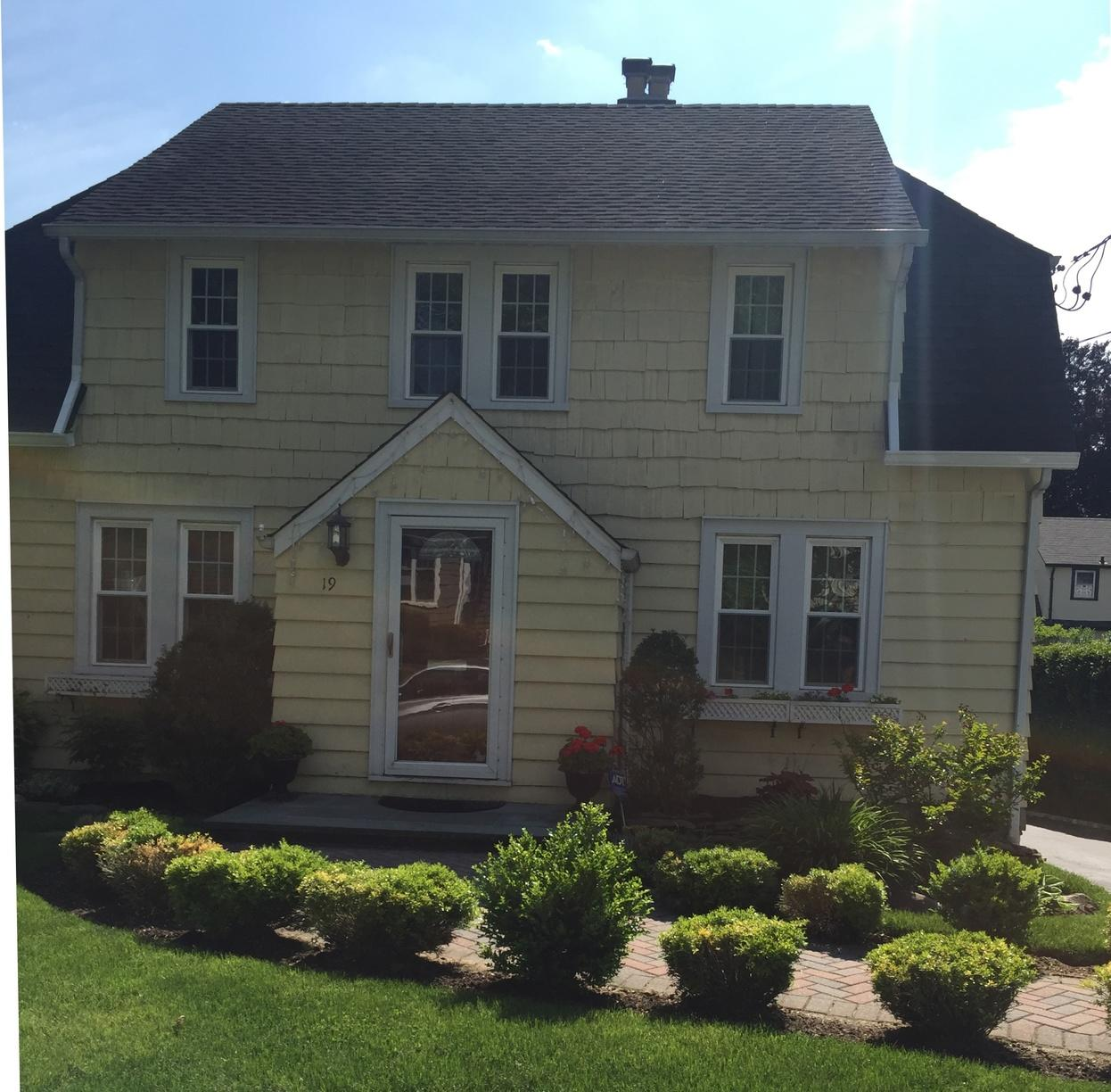 Manhasset, NY Siding Replacement Project - Before Photo