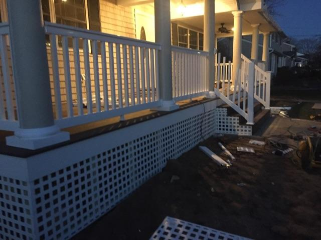Deck Installation in Bay Shore,NY - After Photo
