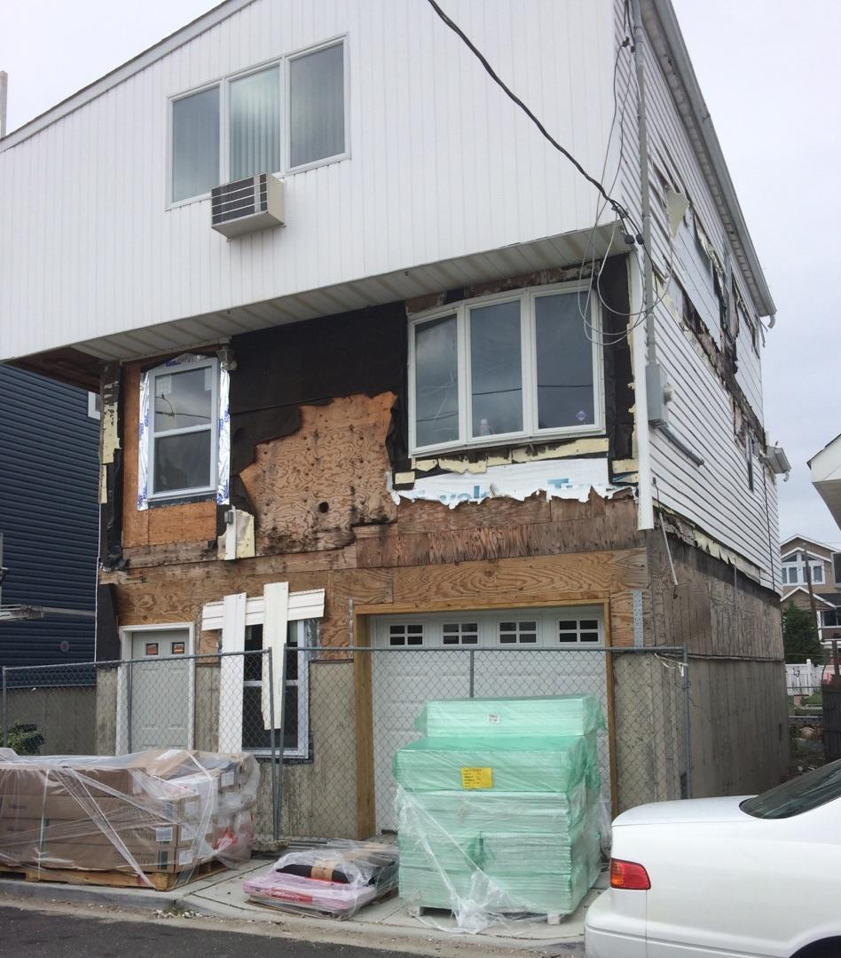 Siding Replacement in Bellmore, NY - Before Photo