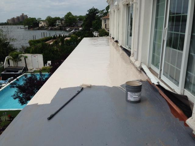 Lawrence, NY Flat Roof Installation - After Photo
