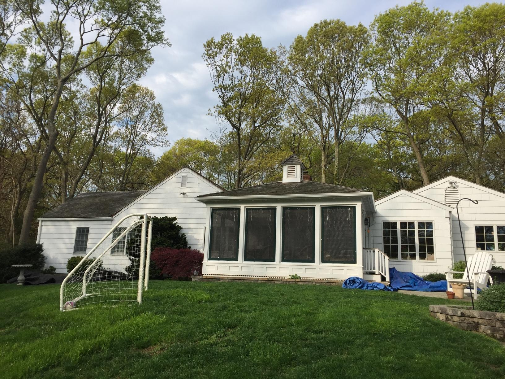 Roof Replacement in Setauket, NY - Before Photo