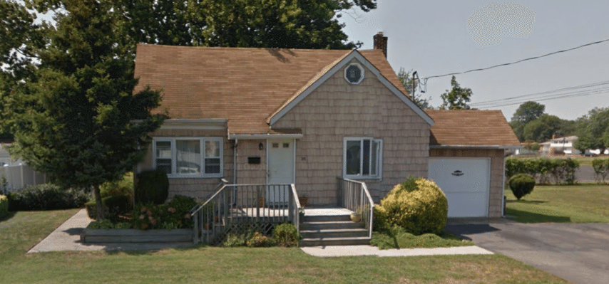West Babylon, NY Roofing and Siding Installation Project - Before Photo