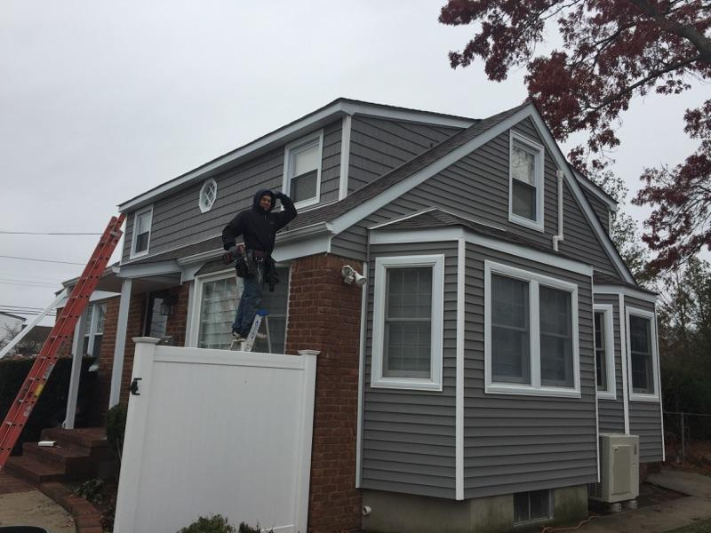 New Siding and Roofing Installation in Merrick, NY - After Photo