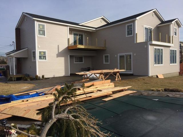 Siding Install for New Construction in Babylon, NY