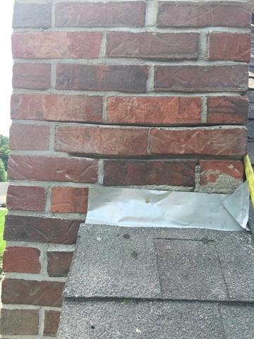 Chimney Flashing Repair in Glastonbury, Connecticut