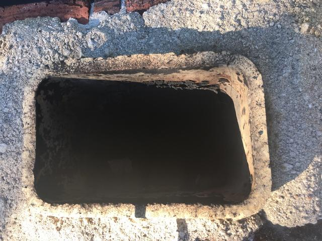 New cement chimney crown installed in Marlborough, CT