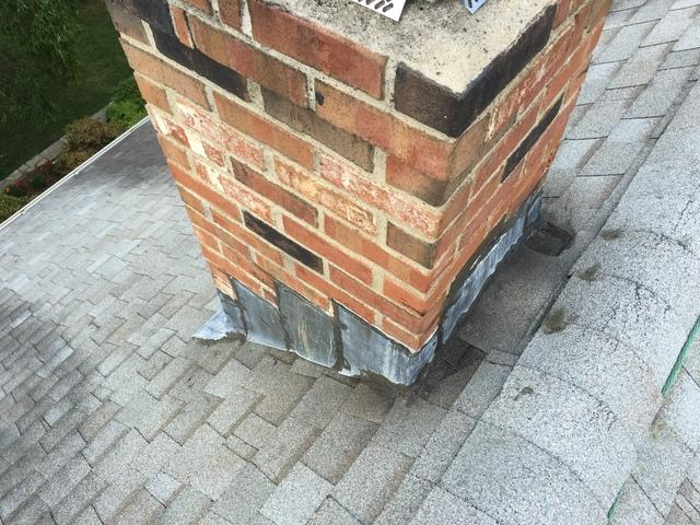 Chimney Flashing Repair in Rocky Hill, Connecticut