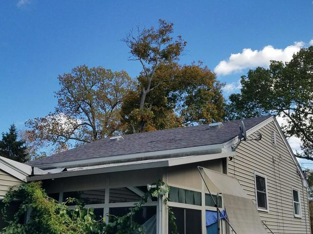 Colonial Slate Shingles - Roof Replacement on Ledyard, CT Home