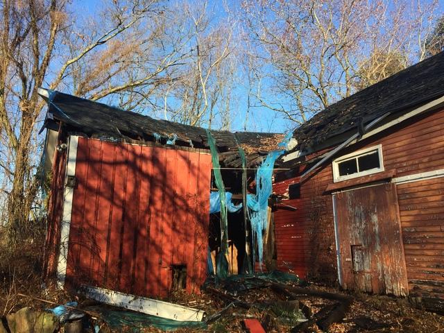 Partial Demolition of Barn in East Windsor, CT