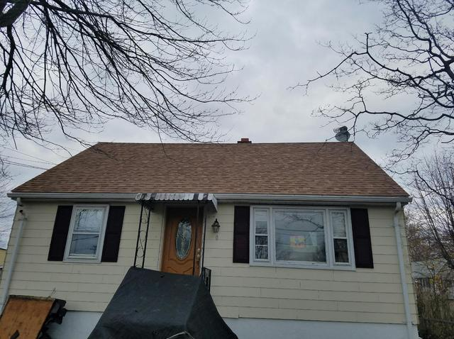 Shingles on Stratford, CT Cape Style Home