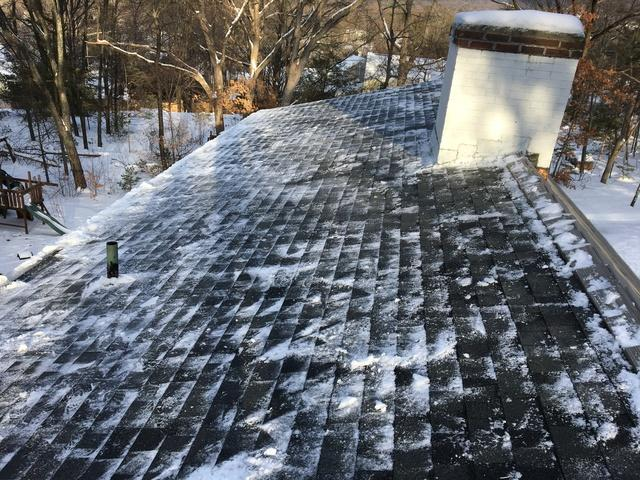Roof Snow Removal in Manchester, CT