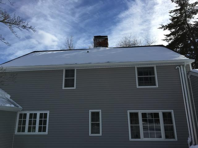 Glastonbury, CT Roof Snow Removal