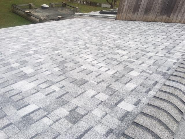 Stamford CT Re-Roofing in Sierra Grey Shingling