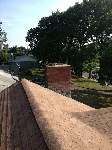 Chimney Rebuild Project in West Hartford, Connecticut