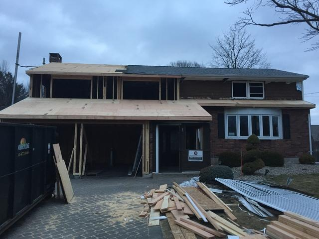 Roof Replacement in Newington Connecticut After Fire Damage