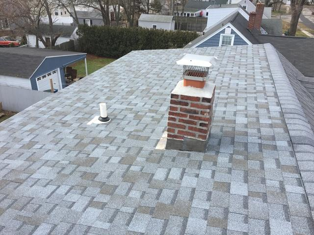Low Slope Home Re-Roof in Milford, Connecticut