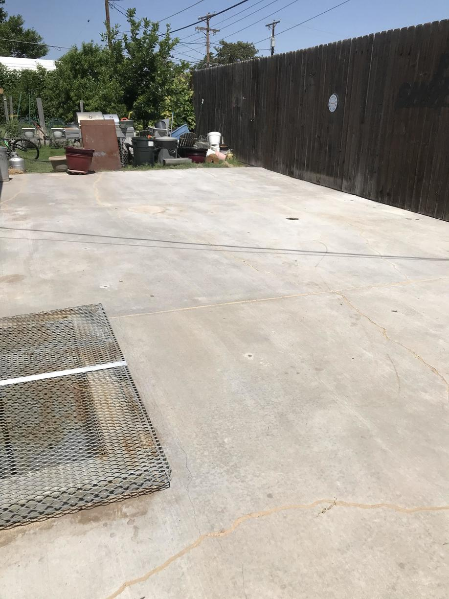 Repairing a Patio in Borger, TX - After Photo