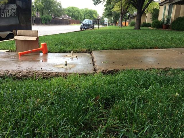 Repair a Tripping Hazard for an Investor in Amarillo, TX