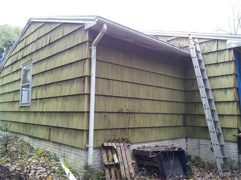 Replacement Siding in Hyde Park NY - Before Photo