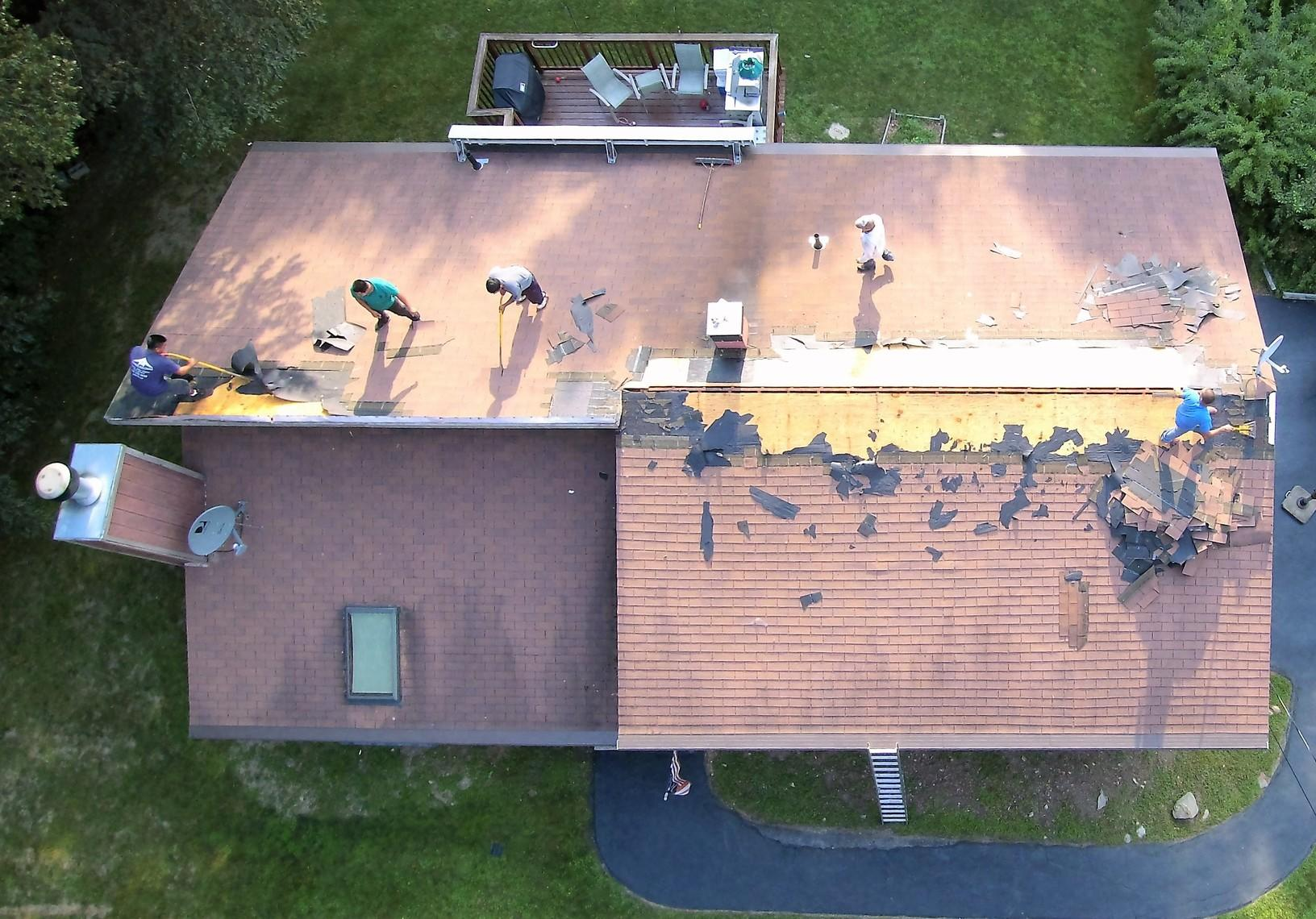 Expert Roof Replacement in Wappingers Falls, NY - Before Photo