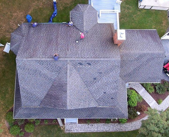 Roof Replacement in Hopewell Junction, NY - Before Photo