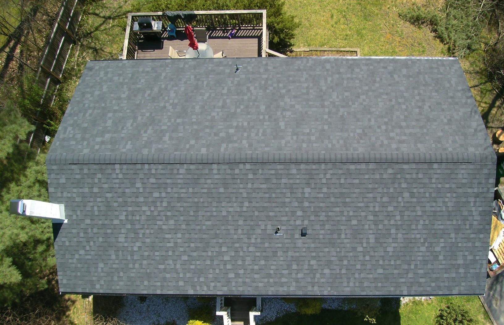 Onyx Black Roof Replacement in Wappingers Falls, NY - After Photo